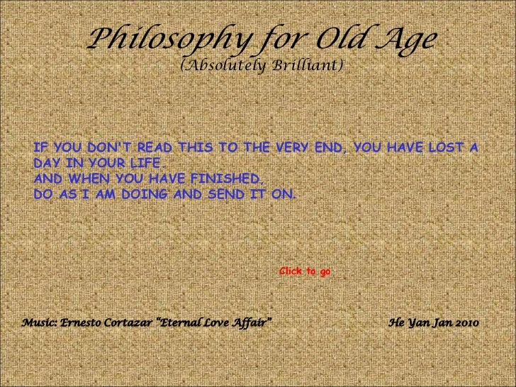 Philosophy for old_age1