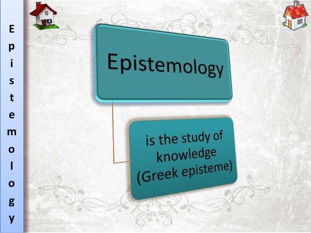 epistemology essay topics