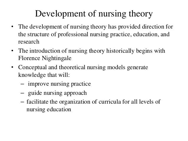 four salient contributions of nursing theorists to the development of nursing science Background: nursing theory should provide the principles that underpin  to  recognise the unique contribution that nurses make to the healthcare service.