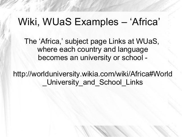 Have you ever learned an Academic Subject on Wikipedia or University Opencourseware?