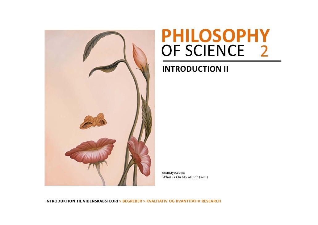 PHILOSOPHY                                                    OFSCIENCE 2                                               ...