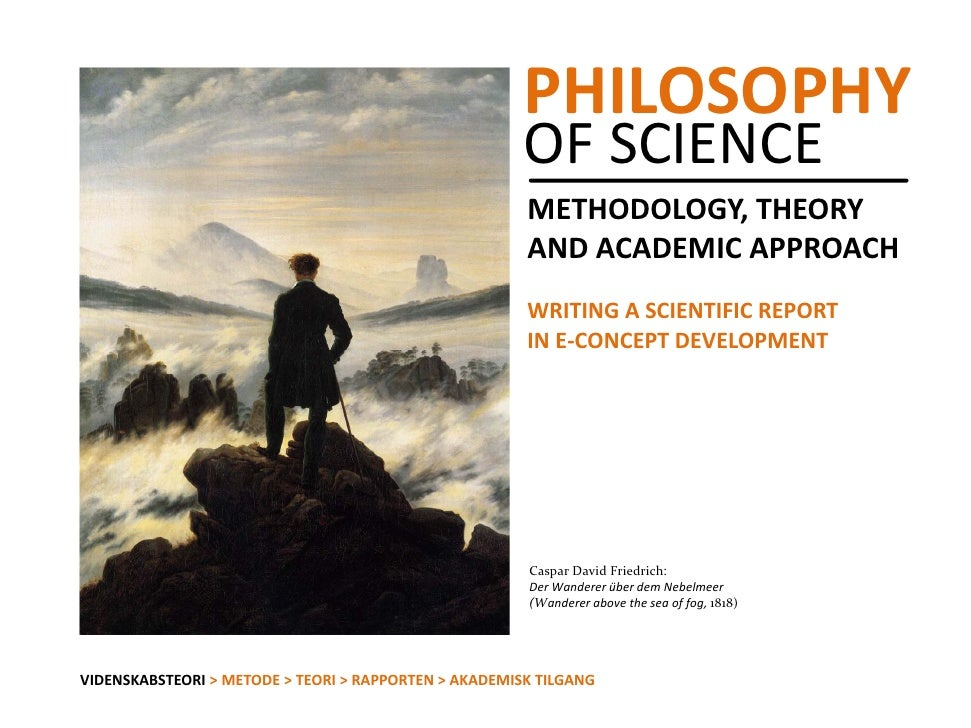 Philosophy of science academic methodology reports_papers