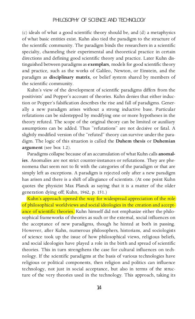 kuhn's theory of scientific development The structures of scientific relativism and that that development was not three dramatic consequences are entailed by kuhn's theory of scientific.