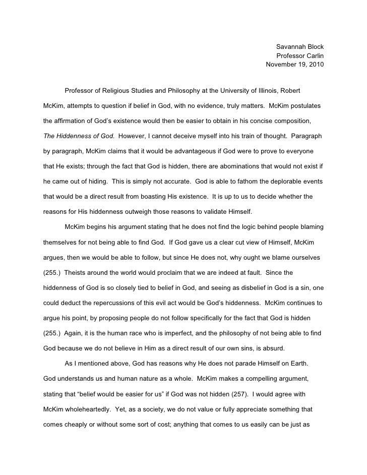 Philosophy paperii (1)