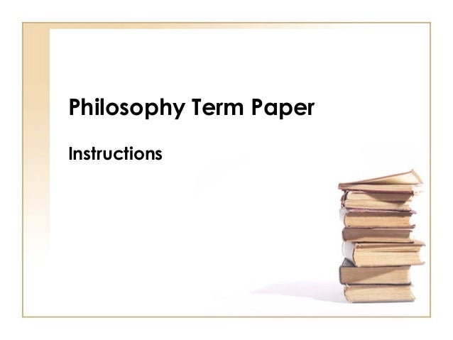 communism paper philosophy term