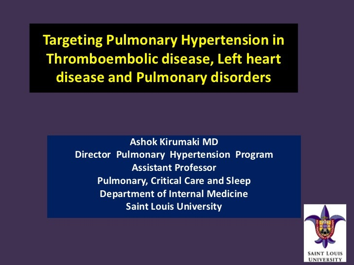 Ph in lhd cteph and copd