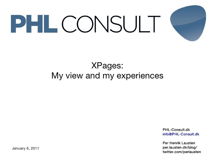 My view on XPages
