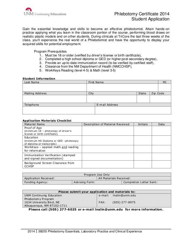 Phlebotomy Certification Verification