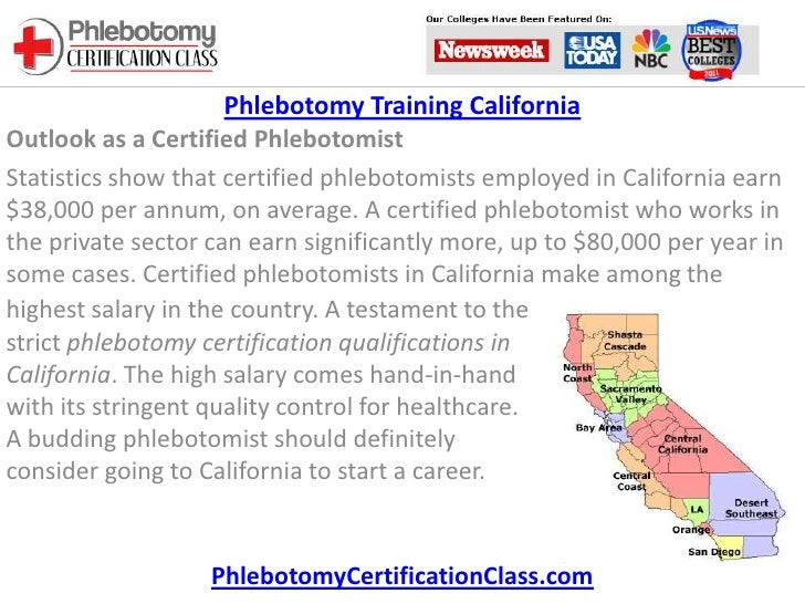 Phlebotomy Training In California Local Phlebotomy Classes Induced