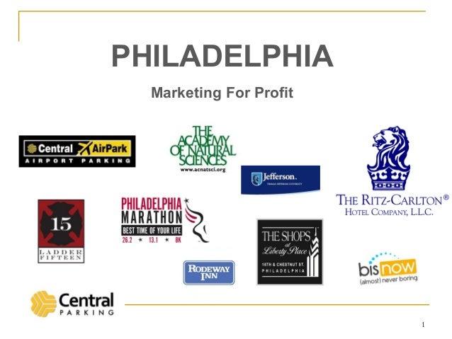 PHILADELPHIA  Marketing For Profit                         1