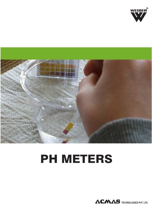 pH Meters by ACMAS Technologies Pvt Ltd.