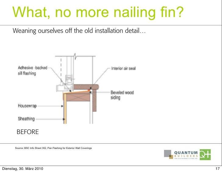 Sills Thresholds Passive House Installation Details That Boost Per