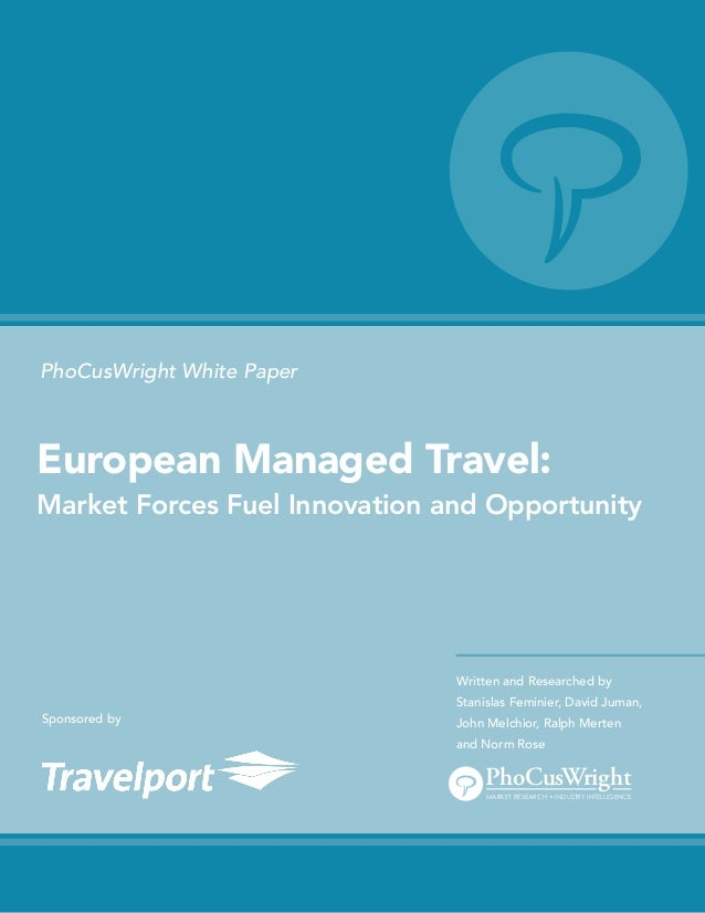 "PhocusWright Whitepaper ""European managed travel"""