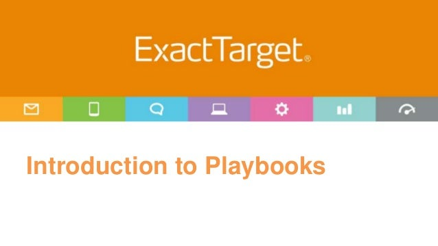 Introduction to Playbooks