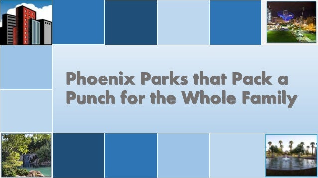 Phoenix Parks that Pack a Punch for the Whole Family
