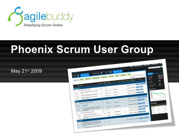 Phoenix User Group Slides