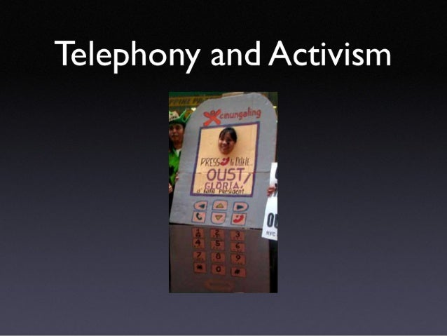 Phone Communities and Activism Showcase