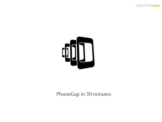 PhoneGap in 30 minutes