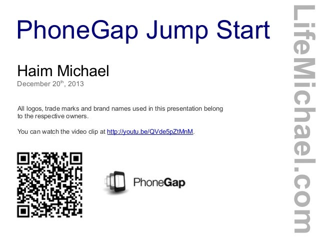 PhoneGap Jump Start