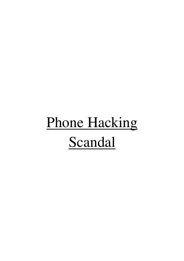 Phone HackingScandal