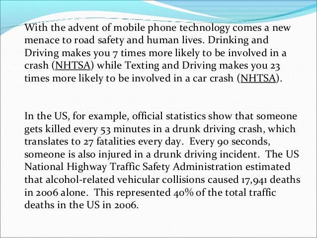 dui essay outline Denniston drunk driving speech outline - download as (rtf), pdf file (pdf), text file (txt) or read online.