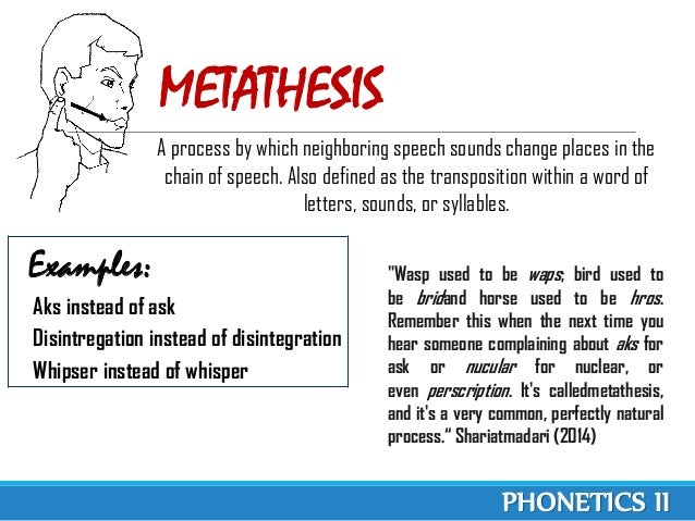Metathesis reaction definition example essays