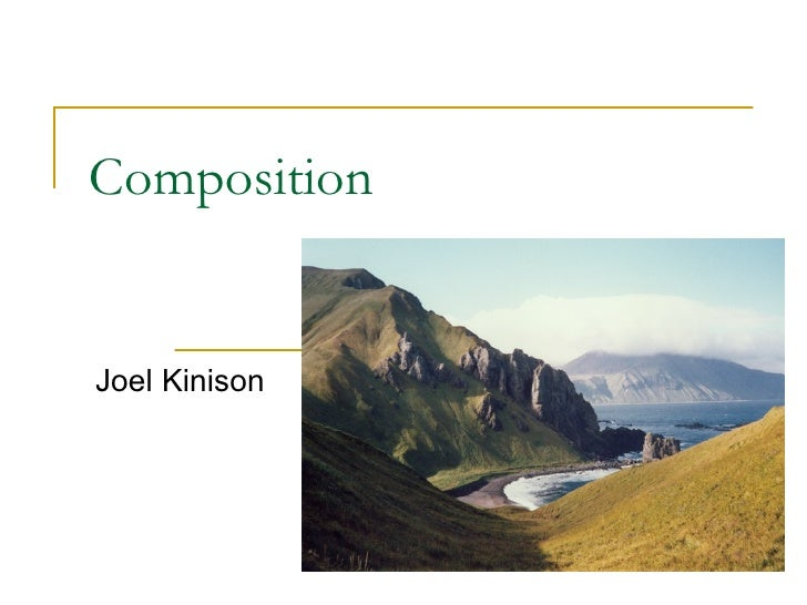 Composition Joel Kinison