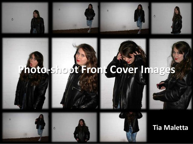 Tia Maletta Photo-shoot Front Cover Images