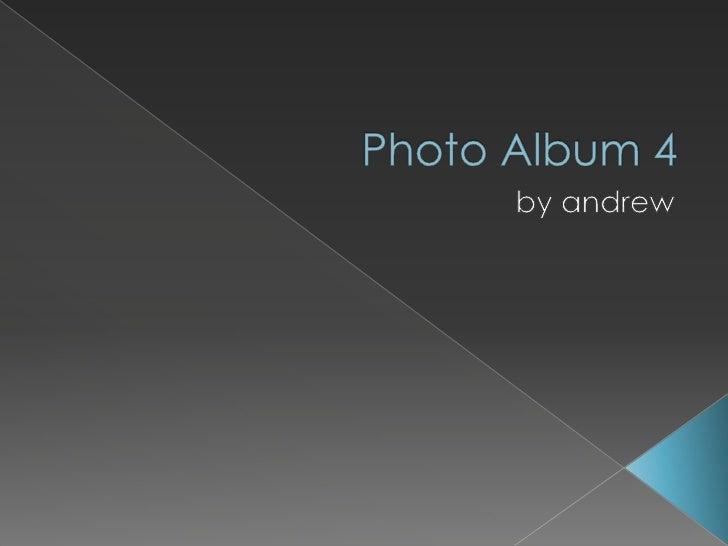 Photo album 4