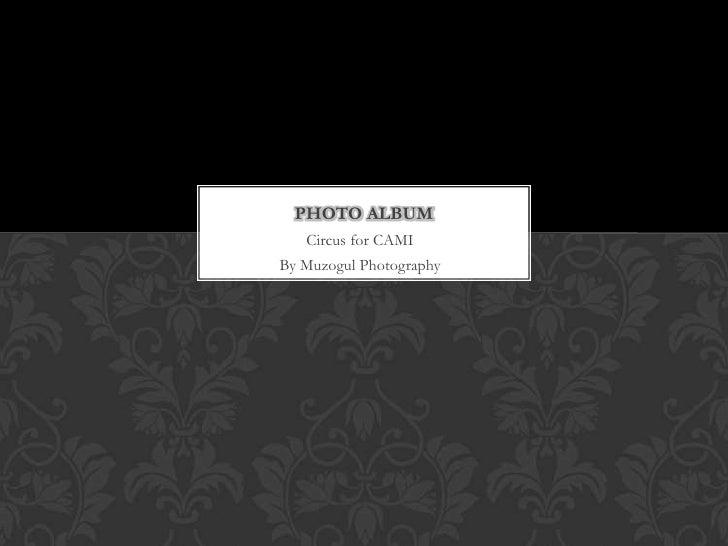Photo Album For Cami