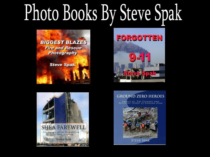 Photo Books By Steve Spak