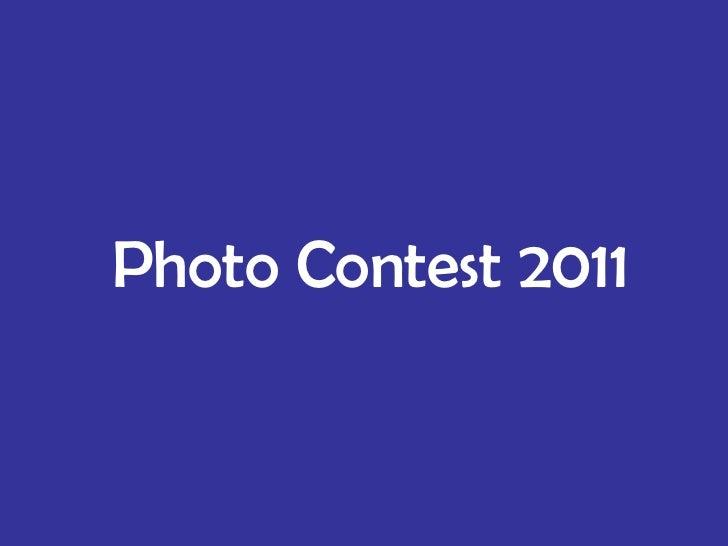 Photo contest 2011 pp