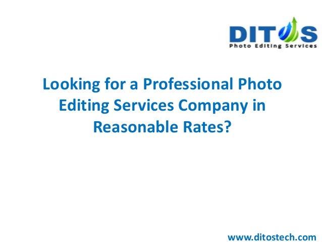 Best online editing service
