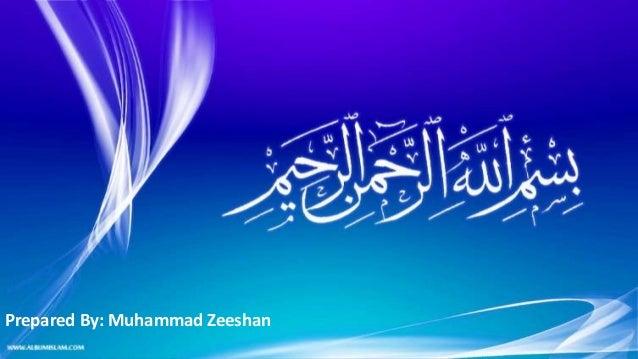 Prepared By: Muhammad Zeeshan