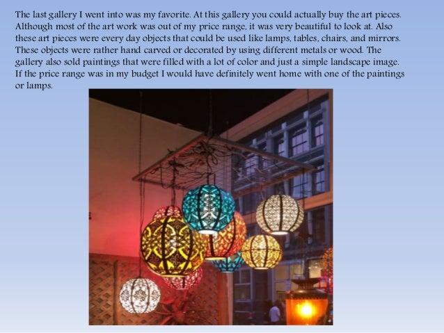 Gallery essay