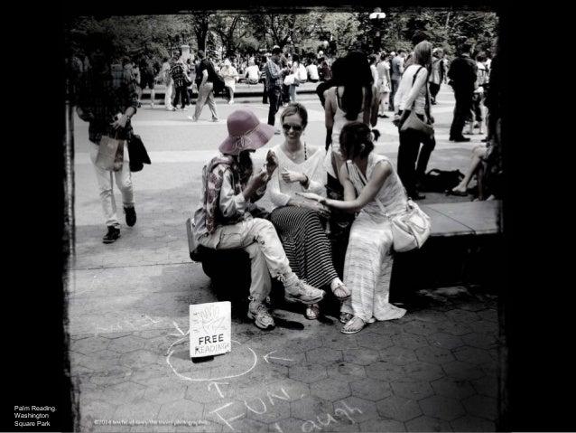 Palm Reading. Washington Square Park