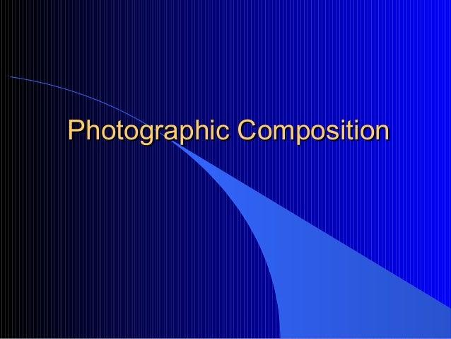 Photographic composition