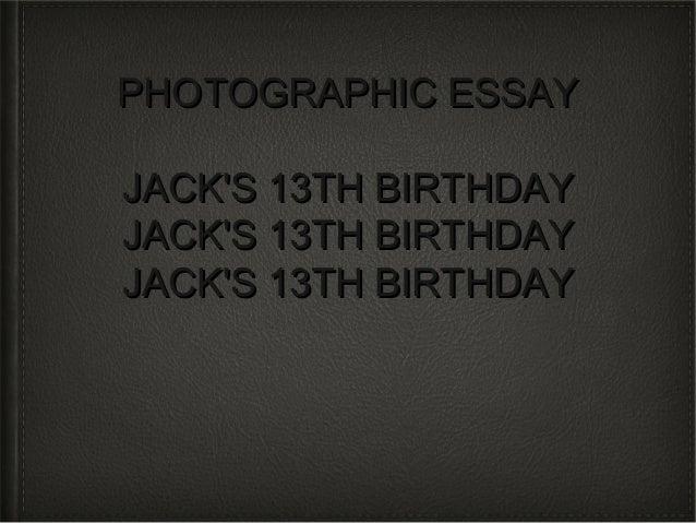 Photographic essay