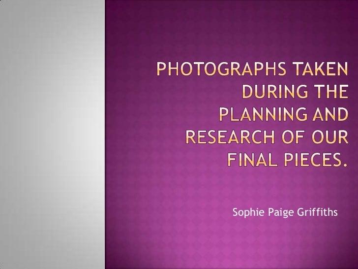 Sophie Paige Griffiths