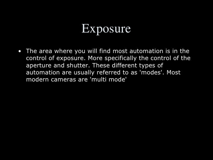 Easy exposure lesson 13 homework