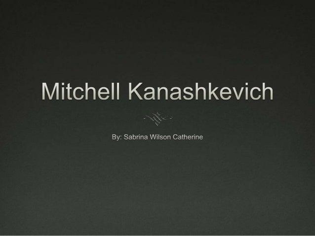 Photography mitchell kanashkevich