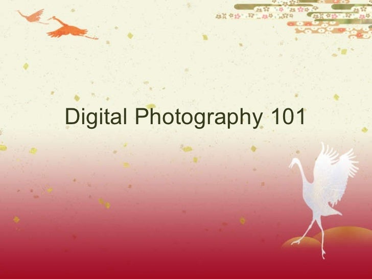 Photography 101