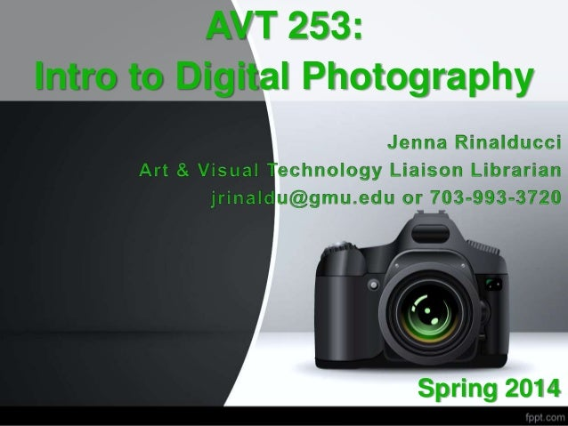 Intro to Digital Photography Research