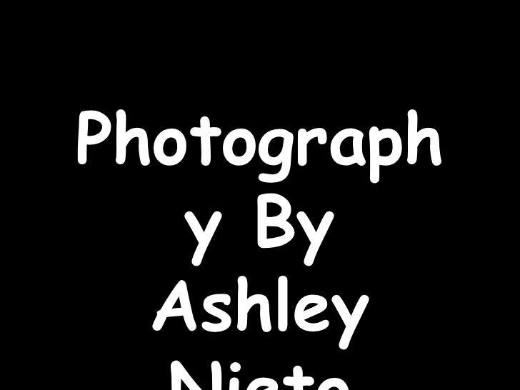 Photography By Ashley Nieto<br />