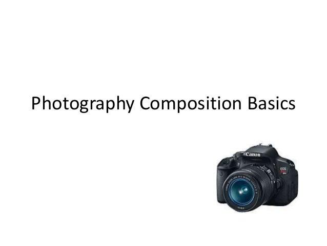 Photography compositionbasics