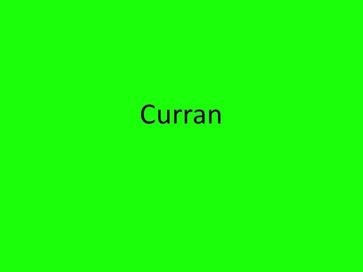 Curran<br />