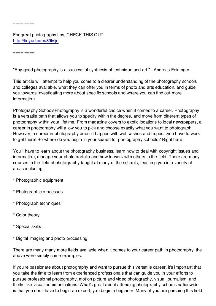 """==== ====For great photography tips, CHECK THIS OUT!http://tinyurl.com/89lvljn==== ====""""Any good photography is a successf..."""