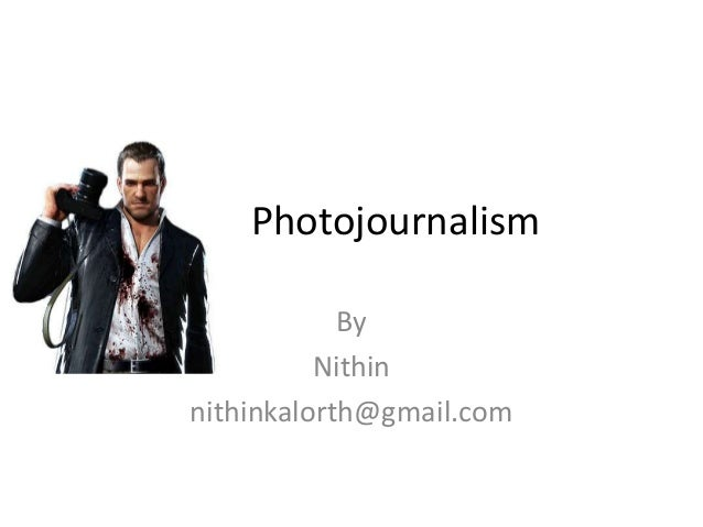 Photojournalism - Introduction