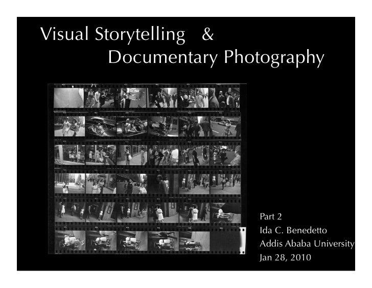 Photojournalism & Visual Storytelling AAU Part 2