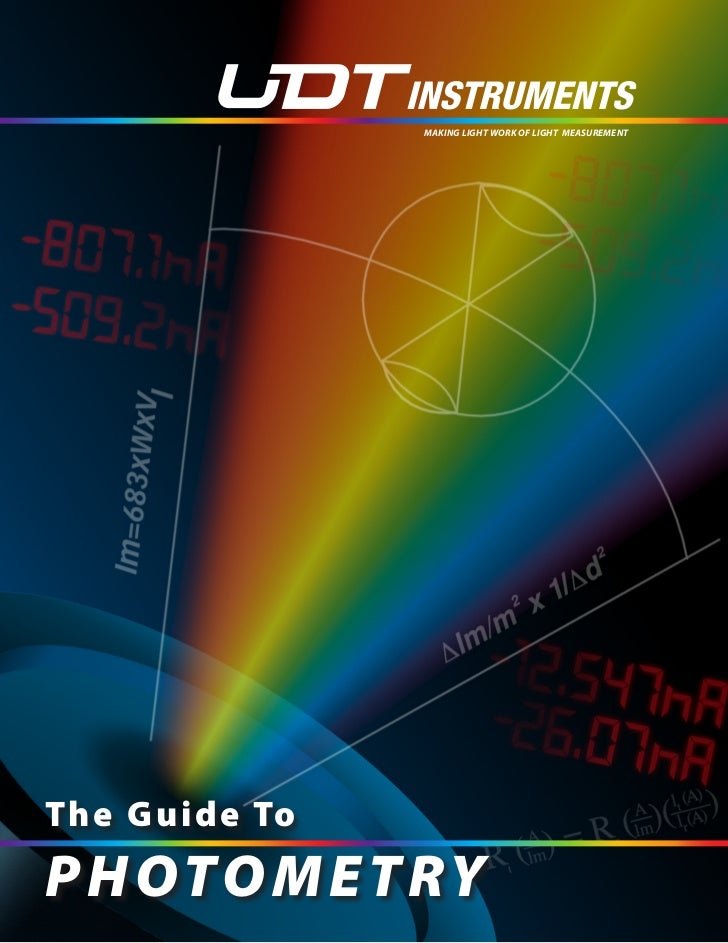 Photometry guide contents